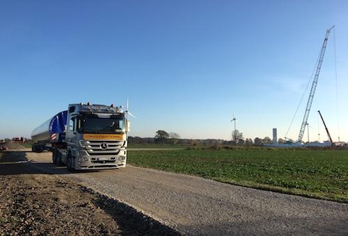 Windpark Neuengamme Repowering Senvion