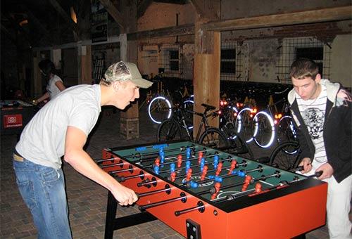 Leonhart Tischfussball in Action
