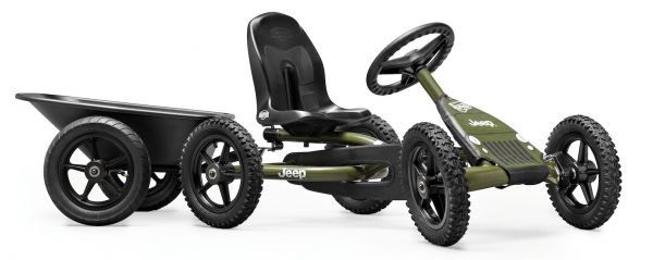 BERG Gokart Buddy Jeep® Junior inkl. Anhängerk. und Anhänger Junior
