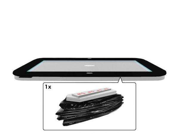 BERG Ersatzteil Schutzrand ULTIM Regular/FlatGround Elite Black 500 x 300 cm Außenrand