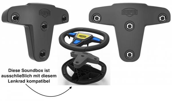 BERG Gokart Soundbox (Nur für Buzzy Aero, Reppy Modelle sowie Buddy Facelifts 2021)