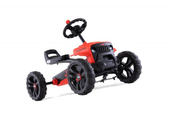 BERG Gokart Buzzy Jeep Rubicon Red