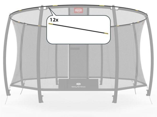 BERG Ersatzteil Fiberglasstangen-Set - GRAND Sicherheitsnetz Deluxe 470 x 310 cm