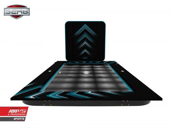 Das BERG FlatGround ULTIM Elite 500 Black + AeroWall 2 x 2 cm Black