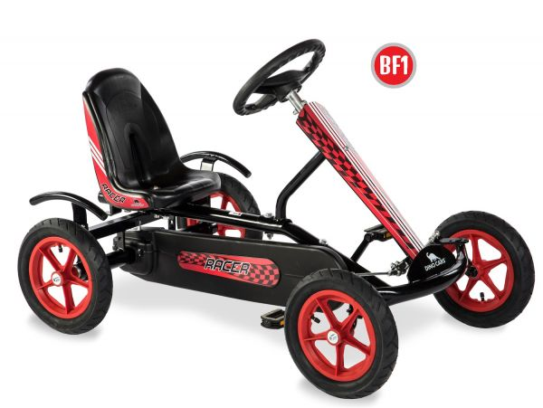 DINO CARS Gokart Speedy Racer BF1 schwarz/rot