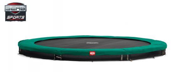 BERG Trampolin InGround Favorit Green Ø380 cm