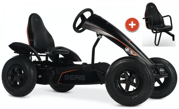 BERG Gokart Black Edition XL BFR-3 inkl. Soziussitz Black Edition