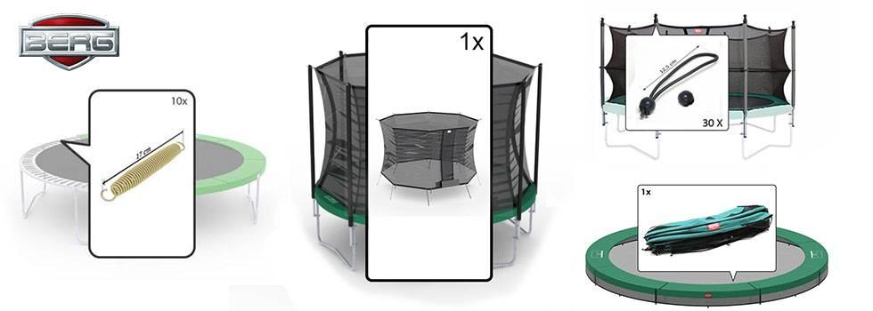 berg trampolin ersatzteile original gokarthof trampoline shop gokarthof. Black Bedroom Furniture Sets. Home Design Ideas