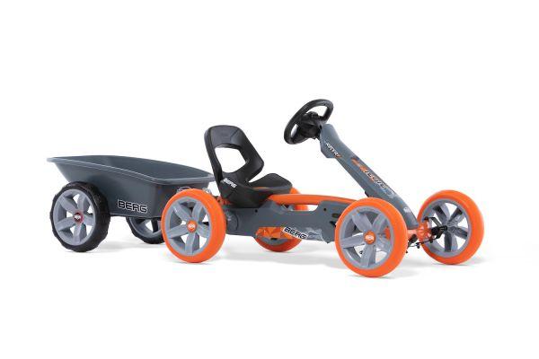 BERG Gokart Reppy Racer inkl. Soundbox und BERG Trailer M
