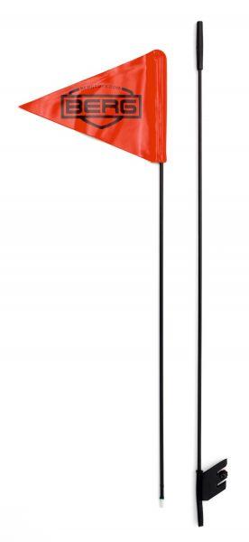 BERG Gokart Buddy Fahne inkl. Halterung