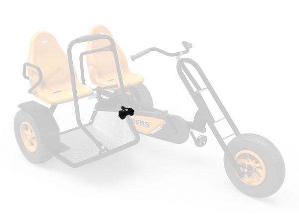 BERG Ersatzteil XL Rahmen - Nabe BF für Duo Chopper