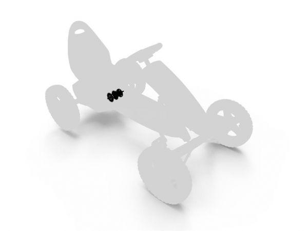 BERG Ersatzteil Nabe BFR für Buddy und Rally Gokarts
