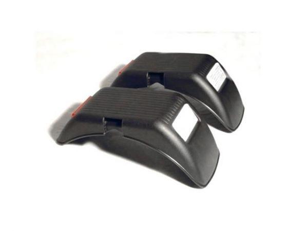 BERG Ersatzteil Kotflügel hinten 90° Schwarz