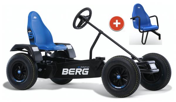 BERG Gokart B.Rapid Blue XL BFR inkl. Soziussitz