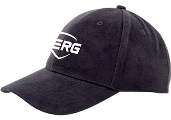 BERG Baseball Cap in schwarz für Erwachsene