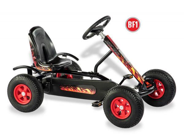 DINO CARS Junior Hot Rod BF1 schwarz/feuerrot