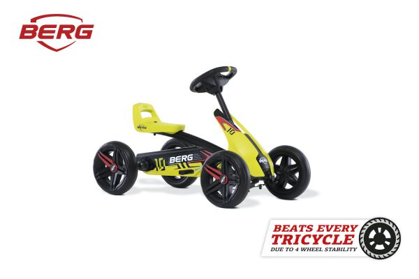 BERG Gokart Buzzy Aero schwarz/gelb