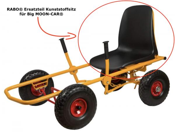RABO® Ersatzteil Kunststoffsitz für Big MOON-CAR®