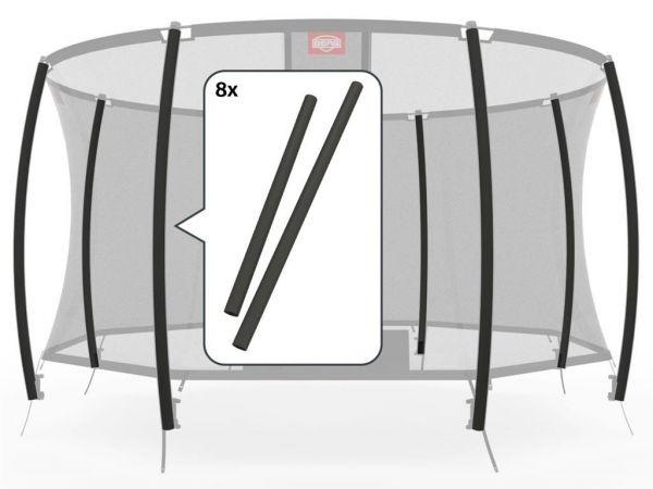 BERG Ersatzteil Schaumstoffpolster für Sicherheitsnetz Deluxe (8x)