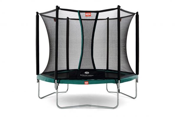 BERG Trampolin Talent Green Ø240 cm + Sicherheitsnetz Comfort