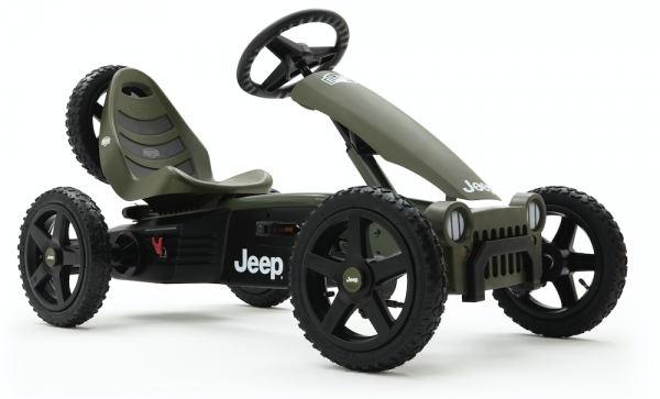 BERG Gokart Rally Jeep® Adventure BFR