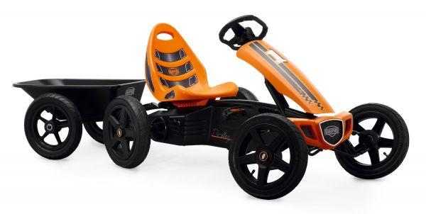 BERG Gokart Rally Orange BFR inkl. Anhänger Junior