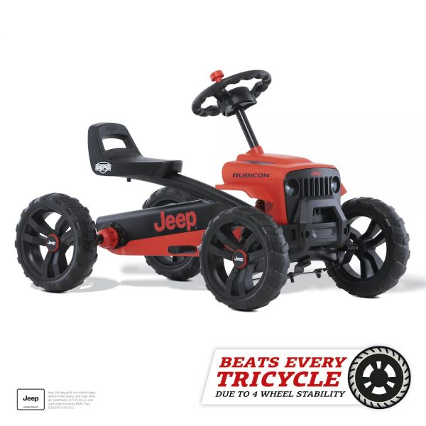 BERG Gokart Buzzy Jeep® Rubicon Red