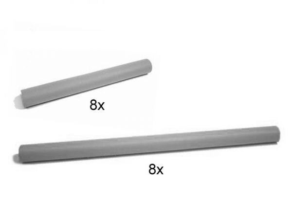 BERG Ersatzteil Schaumstoffpolster für das alte Trampolin Sicherheitsnetz (2x8)