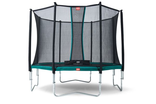 BERG Trampolin Favorit Green Ø330 cm + Sicherheitsnetz Comfort