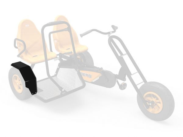 BERG Ersatzteil Kotflügel Sidecar Duo Chopper BF Tricycle