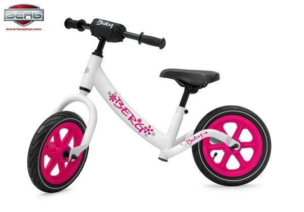 BERG Laufrad Biky weiß/pink