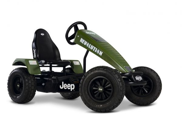 BERG Gokart Jeep® Revolution oliv/schwarz E-BFR