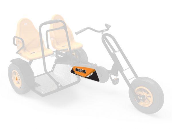 BERG Ersatzteil Sticker-Set XL Rahmen - Aufkleber Duo Chopper