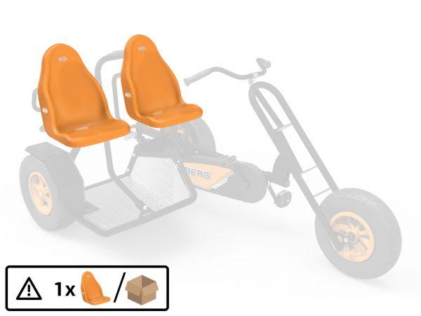 BERG Ersatzteil Sitzschale Orange
