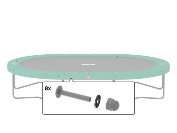 BERG Ersatzteil Montageset für Oberer Rahmen 48 mm & 50,8 mm