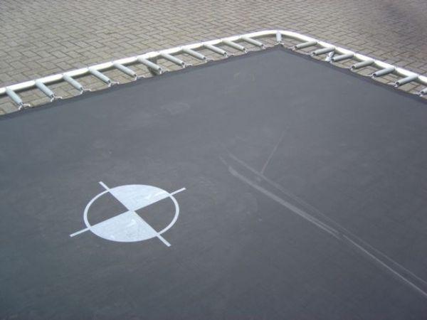 BERG Ersatzteil Sprungtuch für EazyStore Trampolin mit 330 x 220 cm Außenrand