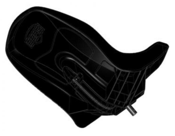 BERG Ersatzteil Buddy Sitzschale schwarz
