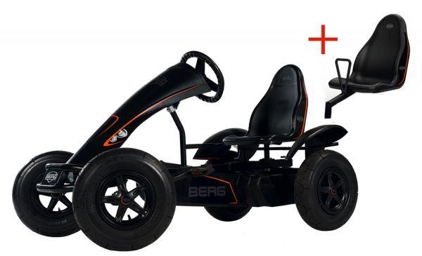 BERG Gokart Black Edition BFR inkl. Soziussitz Black Edition