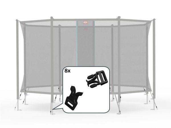 BERG Ersatzteil Schnellverschluss-Set für Sicherheitsnetz Comfort und Deluxe