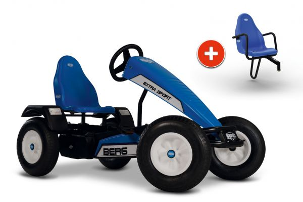 BERG Gokart Extra Sport Blue BFR-3 inkl. Soziussitz Basic/Extra