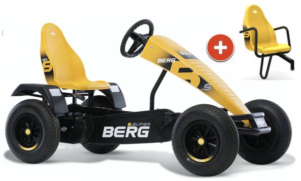 BERG Gokart B.Super Yellow XL BFR inkl. Soziussitz