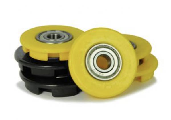BERG Ersatzteil Buddy Radkappen 12 mm gelb (4x) + schwarz (2x)