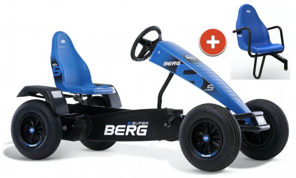 BERG Gokart B.Super Blue XL BFR inkl Soziussitz