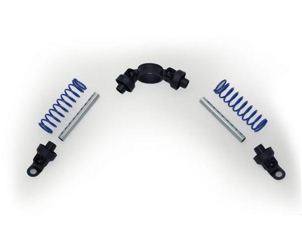 BERG Ersatzteil Buzzy Stoßdämpfer blau (2x)