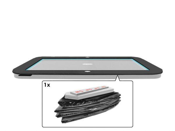 BERG Ersatzteil Schutzrand ULTIM Regular/FlatGround Elite Grey 500 x 300 cm Außenrand
