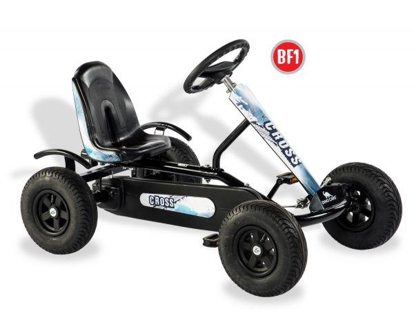 DINO CARS Junior Cross BF1 schwarz/blau-weiß - Gokart