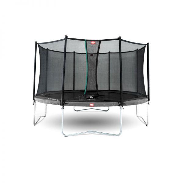 BERG Trampolin Favorit Grey Ø430 cm + Sicherheitsnetz Comfort