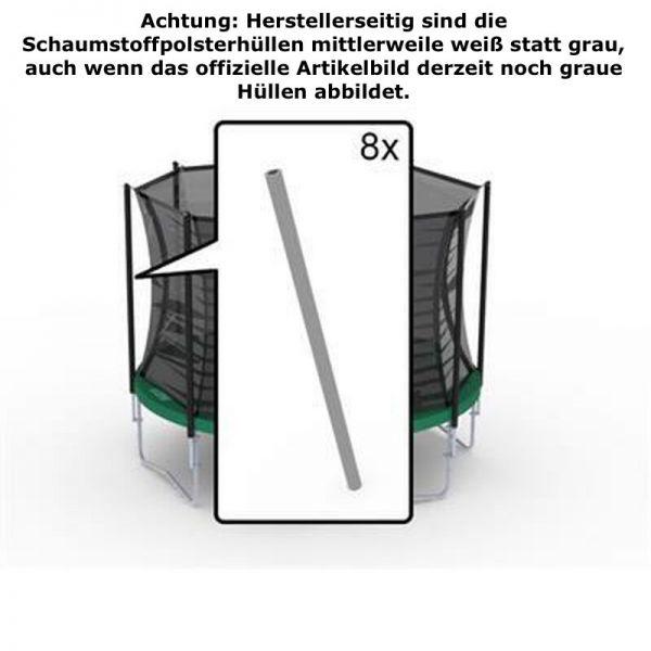 BERG Ersatzteil Schaumstoffpolster in weiß für Sicherheitsnetz Comfort (8x)