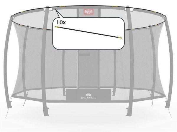 BERG Ersatzteil Fiberglasstangen-Set - GRAND Sicherheitsnetz Deluxe 350 x 250 cm