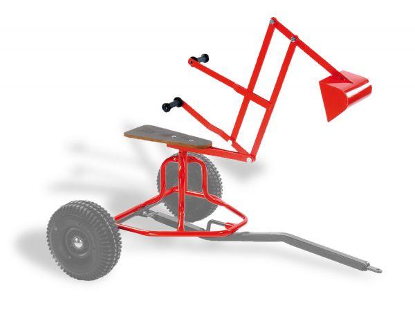 DINO CARS Minibagger-Aufbau für Basiswagen